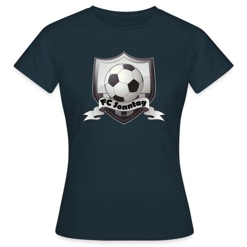 FC Sonntag Logo - Frauen T-Shirt