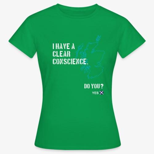 Clear Conscience - Women's T-Shirt