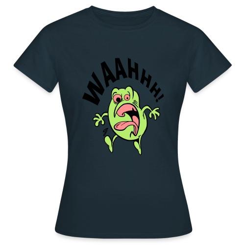 schrik momentje - Vrouwen T-shirt