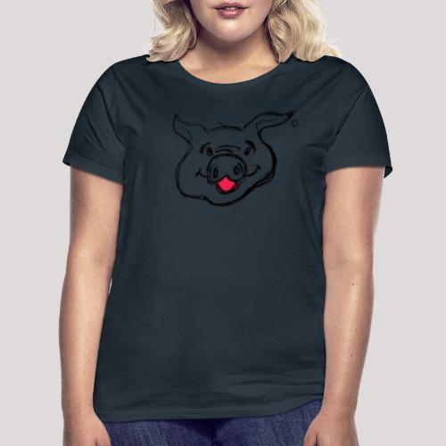 PIGGY Black - Women's T-Shirt