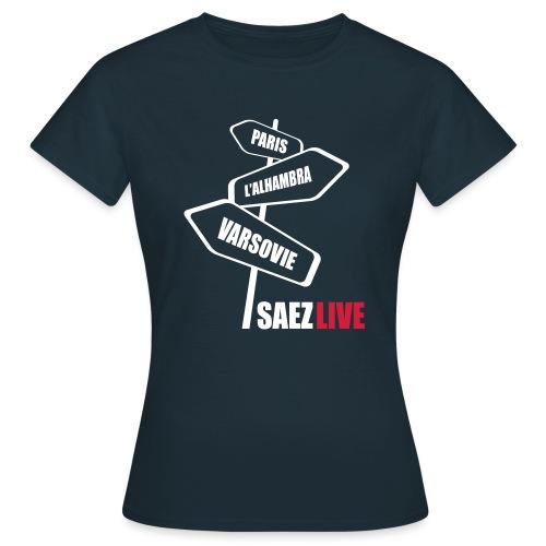 Varsovie (version light, par parek) - T-shirt Femme