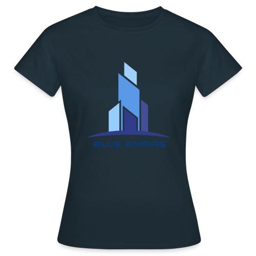 Logo Azul - Camiseta mujer