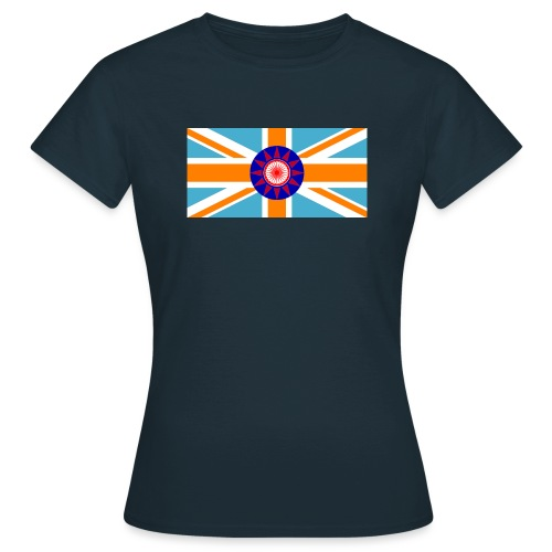 FLAG TEE - Dame-T-shirt