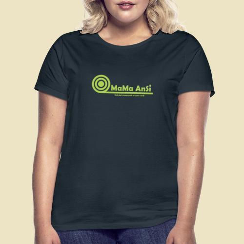 MaMa AnSi G logo - Dame-T-shirt