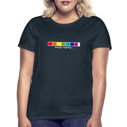 Energie Loading Chakras - Frauen T-Shirt