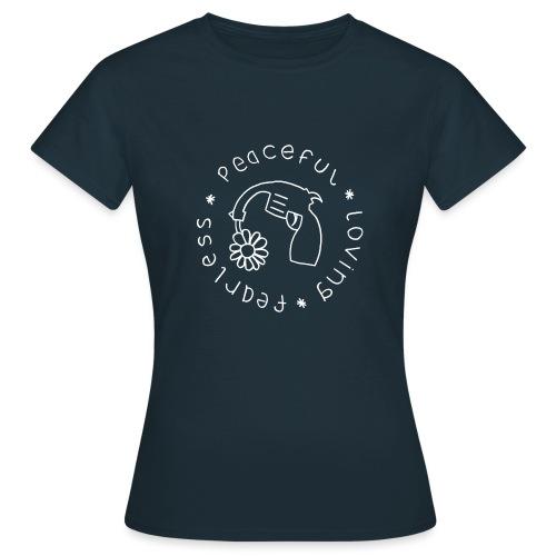 peace4 gif - Women's T-Shirt
