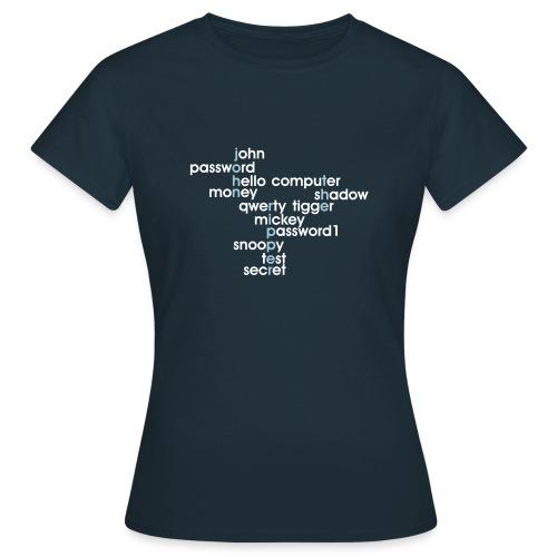 John The Ripper Crossword(III) - Women's T-Shirt