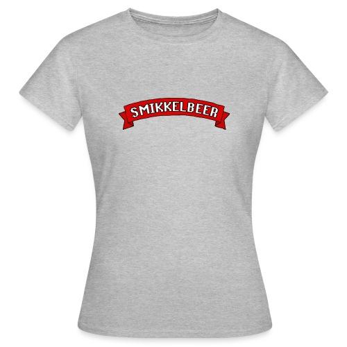 Smikkelbeer - Vrouwen T-shirt