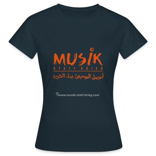 msk tshirt frontDesign - Frauen T-Shirt