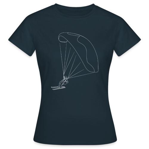 Speedflying Speedriding Linien Skizze - Frauen T-Shirt