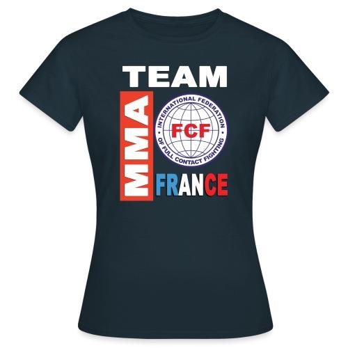 FCF MMA France team - T-shirt Femme