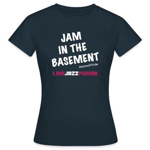 JazzrockTV - Jam In The Basement - Frauen T-Shirt