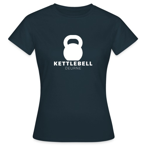 Kettlebell Deurne Wit Logo - Vrouwen T-shirt