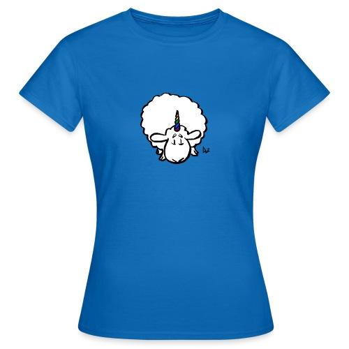 Ewenicorn - det er en regnbue enhjørning får! - Dame-T-shirt