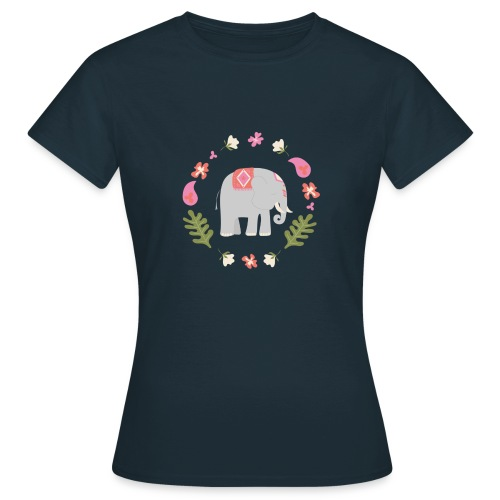 Indian elephant - Maglietta da donna