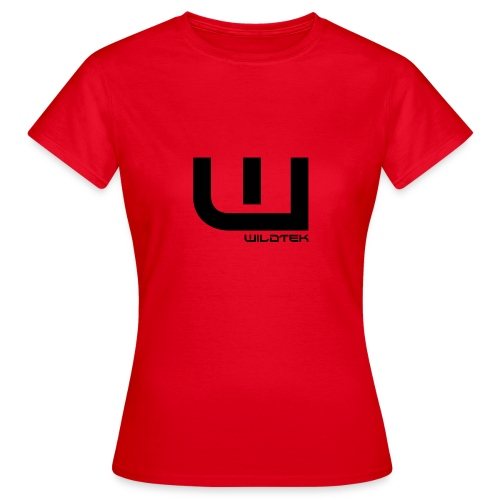 Wildtek Logo Black - Women's T-Shirt