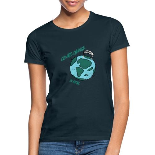 Climate change is real - Vrouwen T-shirt