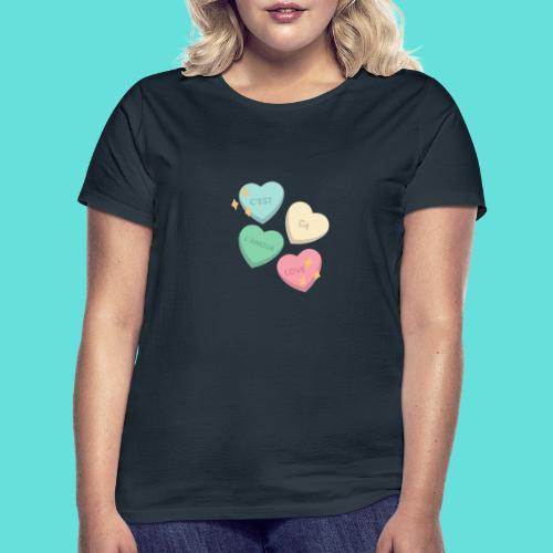 C'est ça l'amour, love - T-shirt Femme