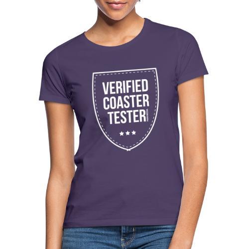 Badge CoasterTester vérifié - T-shirt Femme