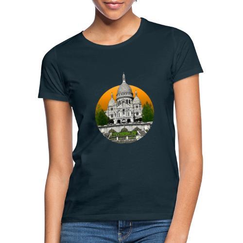 Sacré-cœur circle - T-shirt Femme