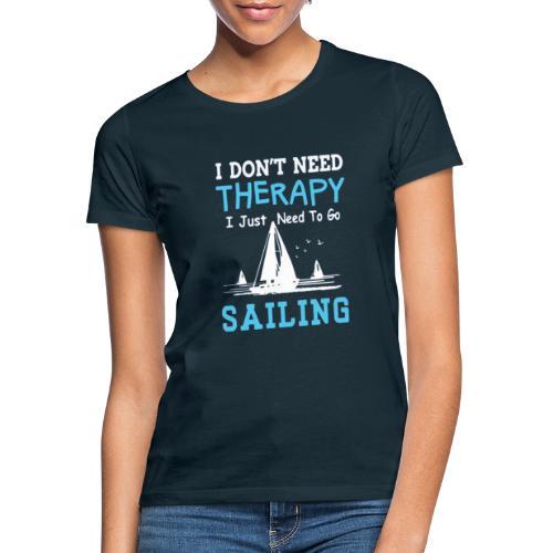 theraphy sailboat - Maglietta da donna
