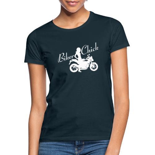 Biker Chick - Naked bike - Naisten t-paita