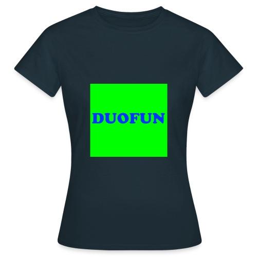 scritte duofun - Frauen T-Shirt