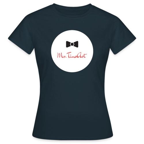 Mr.TinoArt White - T-shirt Femme