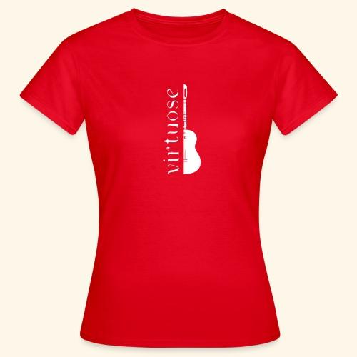 Guitare virtuose - T-shirt Femme