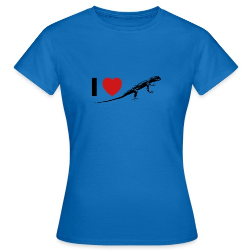 I ❤️ Echse - Frauen T-Shirt