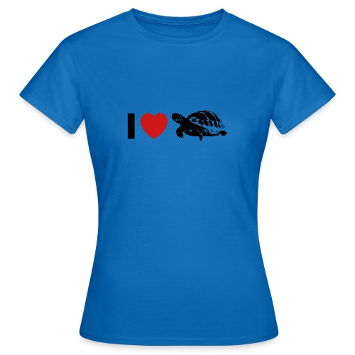 I ❤️ Schildkröte - Frauen T-Shirt