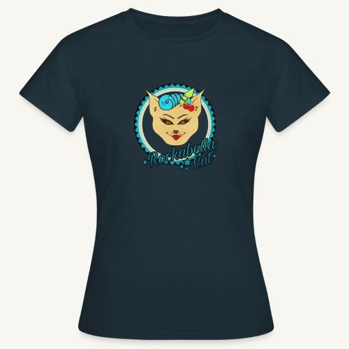 Rockabilly Cat - Frauen T-Shirt