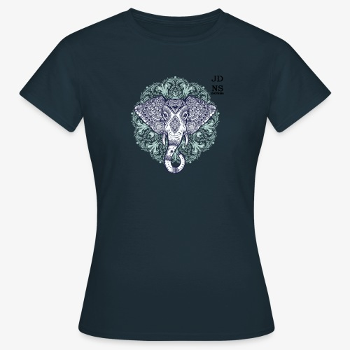 Blue Elephant - Camiseta mujer