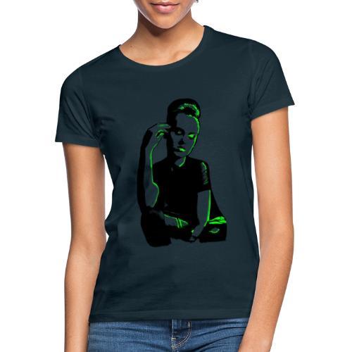 ATTITUDE (neon green) - Dame-T-shirt