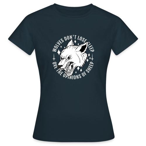 Wölfe schlafen nicht - Frauen T-Shirt
