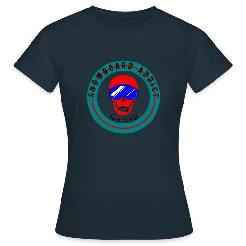 Skull Snowborder - T-shirt dam