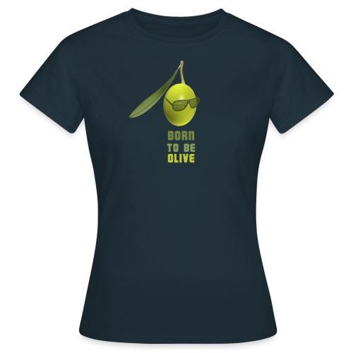 olive lunettes png - T-shirt Femme