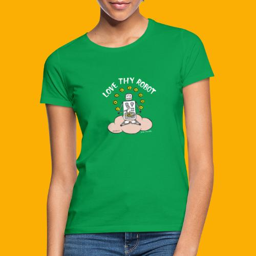 Dat Robot: Love Thy Robot Buddha Dark - Vrouwen T-shirt