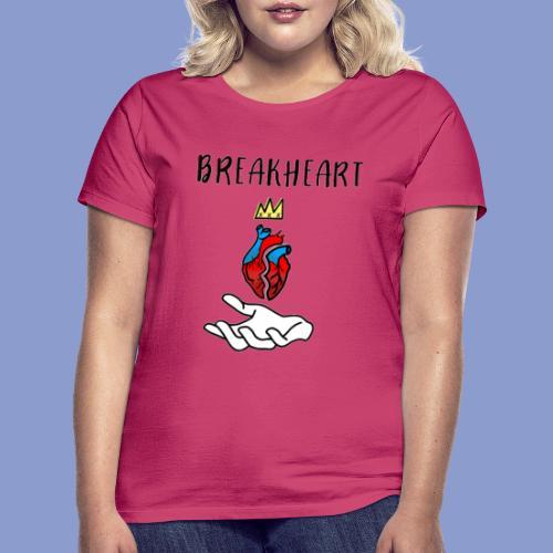 BREAKHEARTH - Maglietta da donna
