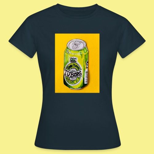 Gul Øller's - Dame-T-shirt