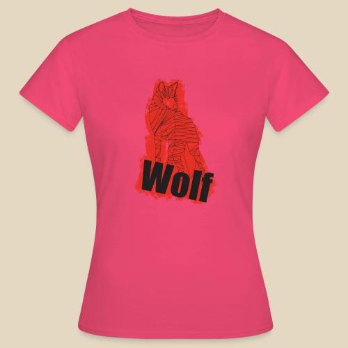 Red Wolf - T-shirt Femme