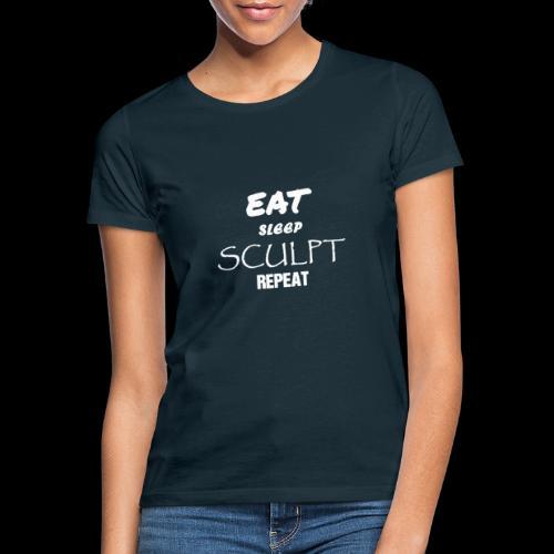 eat sleep B - T-shirt Femme