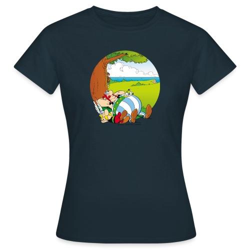 Astérix & Obélix Font Une Sieste - T-shirt Femme