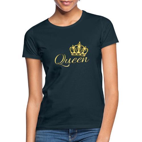 Queen Or -by- T-shirt chic et choc - T-shirt Femme