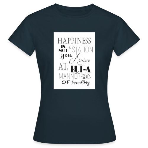 Travel Happy - Women's T-Shirt
