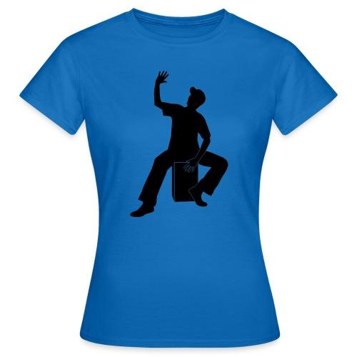 Cajon - Frauen T-Shirt