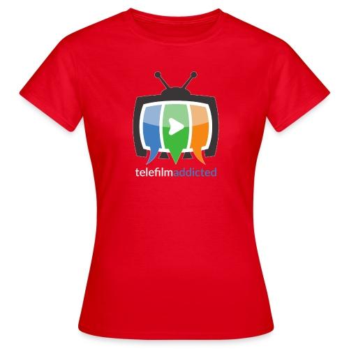 Logo Telefilm Addicted - Maglietta da donna