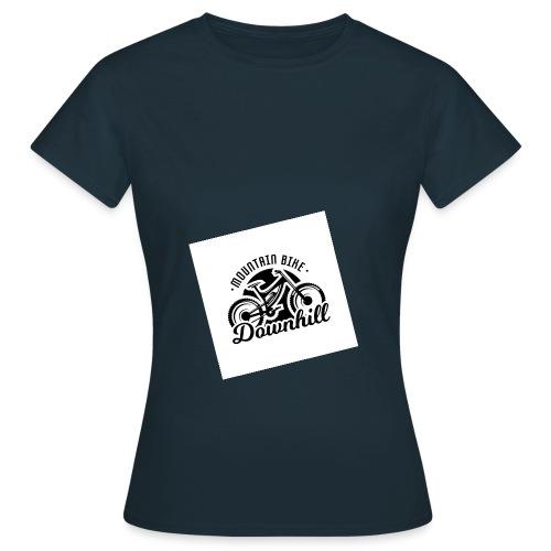 downhill ist leben - Frauen T-Shirt