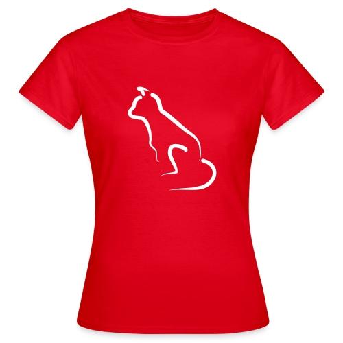 katten silhoutte - Vrouwen T-shirt