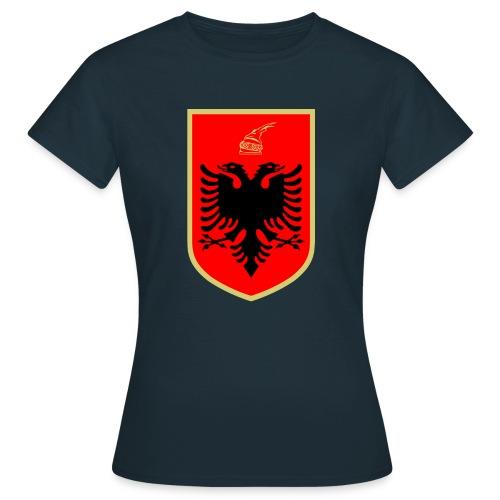 Coat of arms of Albanien - Frauen T-Shirt